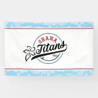 Bannière de titans d'Ohana