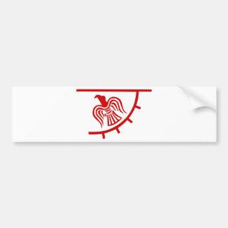 Bannière de Viking Eagle Autocollant De Voiture