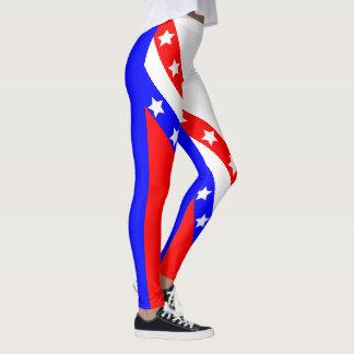 Bannière étoilée américaine finale des Etats-Unis Leggings