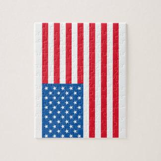 Bannière étoilée de drapeau des Etats-Unis Puzzle