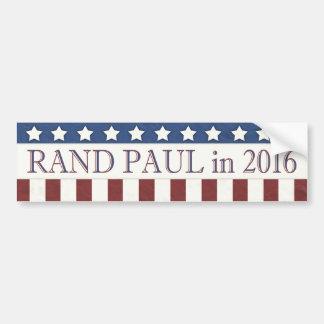 Bannière étoilée de Paul 2016 de couche-point Autocollant Pour Voiture