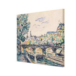 Banque de la Seine près du Pont des Arts Toiles