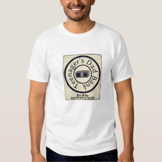 Banque du papa de l'adolescent t-shirt