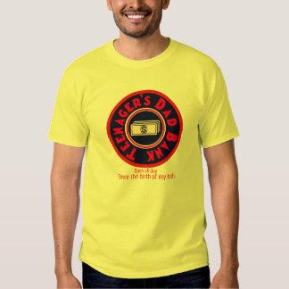 Banque du papa de l'adolescent t-shirts