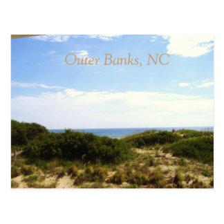 Banques externes, carte postale d'OR