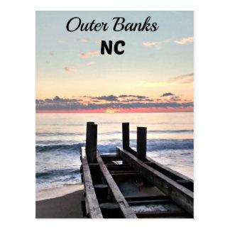 Banques externes, la Caroline du Nord Carte Postale