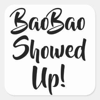 BaoBao a révélé des autocollants