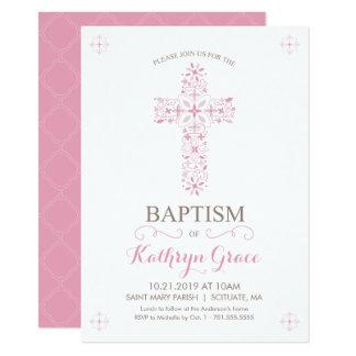 Baptême, baptême Invitatio, invitation de bébés