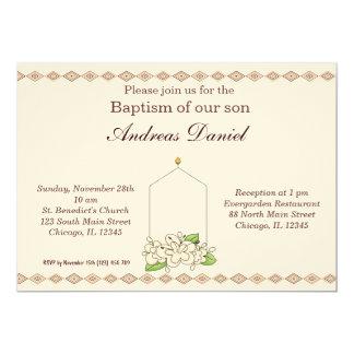 Invitations baptême