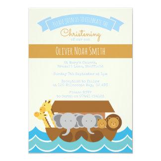 Baptême de bébé/invitation de baptême carton d'invitation  12,7 cm x 17,78 cm