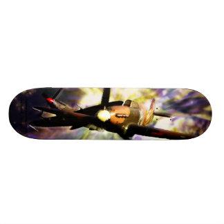 Baptême de planche à roulettes du feu skateboard 20,6 cm