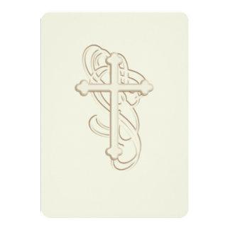 Baptême d'invitation/?ères communion/confirmation carton d'invitation  12,7 cm x 17,78 cm