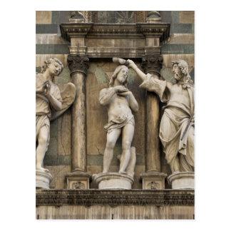 Baptême du Christ - statue de Florence Carte Postale