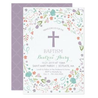 Baptême, invitation de baptême - customisée