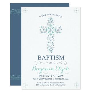 Baptême, invitation de baptême - invitation de