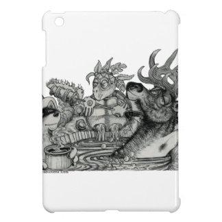 Baquet chaud caché de boue étuis iPad mini