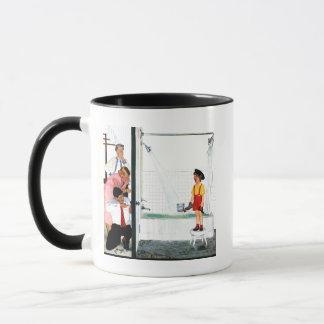 Baquet de débordement tasse
