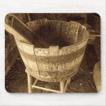 Baquet de lavage tapis de souris