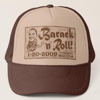 Barack et roulent le casquette 2009 d'inauguration