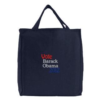 Barack Obama a brodé le sac fourre-tout