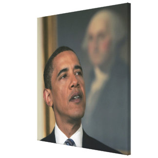 Barack Obama annoncent son intention pour nommer Toiles