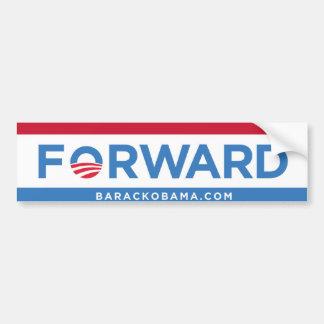 Barack Obama expédient (rouge, blanc, et bleu) le  Autocollant De Voiture