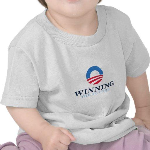 Barack Obama gagnant 2012 T-shirts