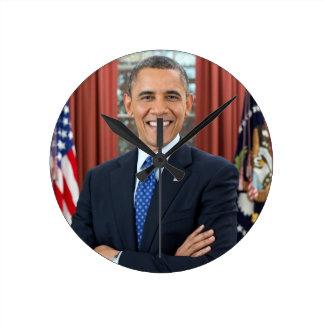 Barack Obama Horloge Ronde