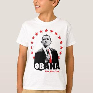 Barack Obama - oui nous pouvons T-shirt