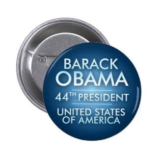 Barack Obama : quarante-quatrième Président Pin's Avec Agrafe