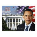 Barack Obama - quarante-quatrième président des Ét Cartes Postales