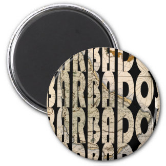 barbados1758 magnet rond 8 cm