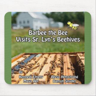 Barbee l'abeille visite le Sr. La ruche Mousepad Tapis De Souris