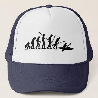 Barbotant l'évolution (kayak) casquette