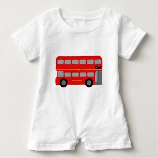 Barboteuse Autobus rouge de Londres