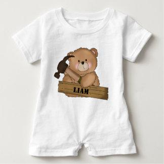 Barboteuse Cadeaux personnalisés par ours du constructeur de