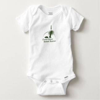 Barboteuse courte de douille de bébé