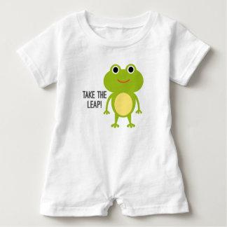 Barboteuse de bébé de Froggy