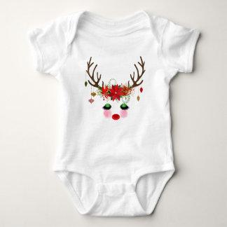 Barboteuse de renne de Noël