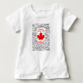 Barboteuse du bébé Canada150