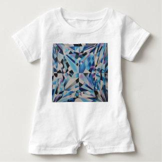 Barboteuse en verre de bébé de diamant