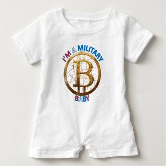 Barboteuse Habillement militaire de bébé de Bitcoin