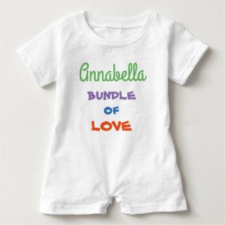Barboteuse Le plus doux personnalisez l'habillement de bébé