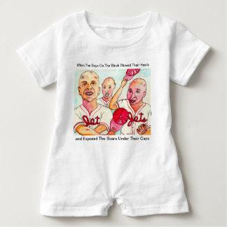 Barboteuse Les enfants d'haricot de Baldy du crochet rouge