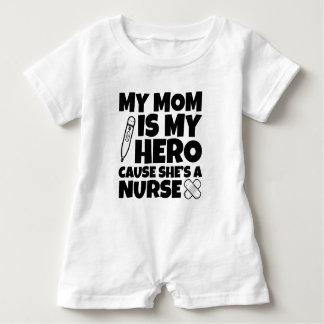 Barboteuse Ma maman est ma cause de héros qu'elle est une