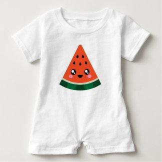 Barboteuse mignonne superbe de bébé de pastèque de