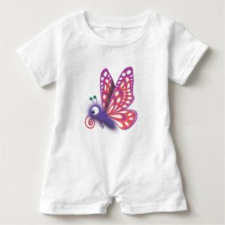 Barboteuse Papillon brouillé