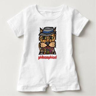 """Barboteuse """"philosophique"""" de bébé"""