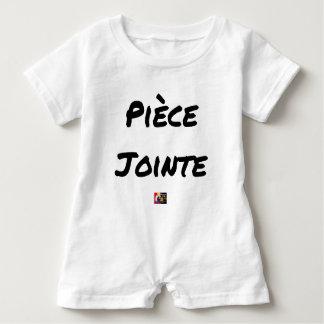 Barboteuse PIÈCE JOINTE - Jeux de mots - Francois Ville
