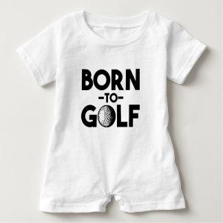Barboteuse Soutenu pour jouer au golf la chemise drôle de